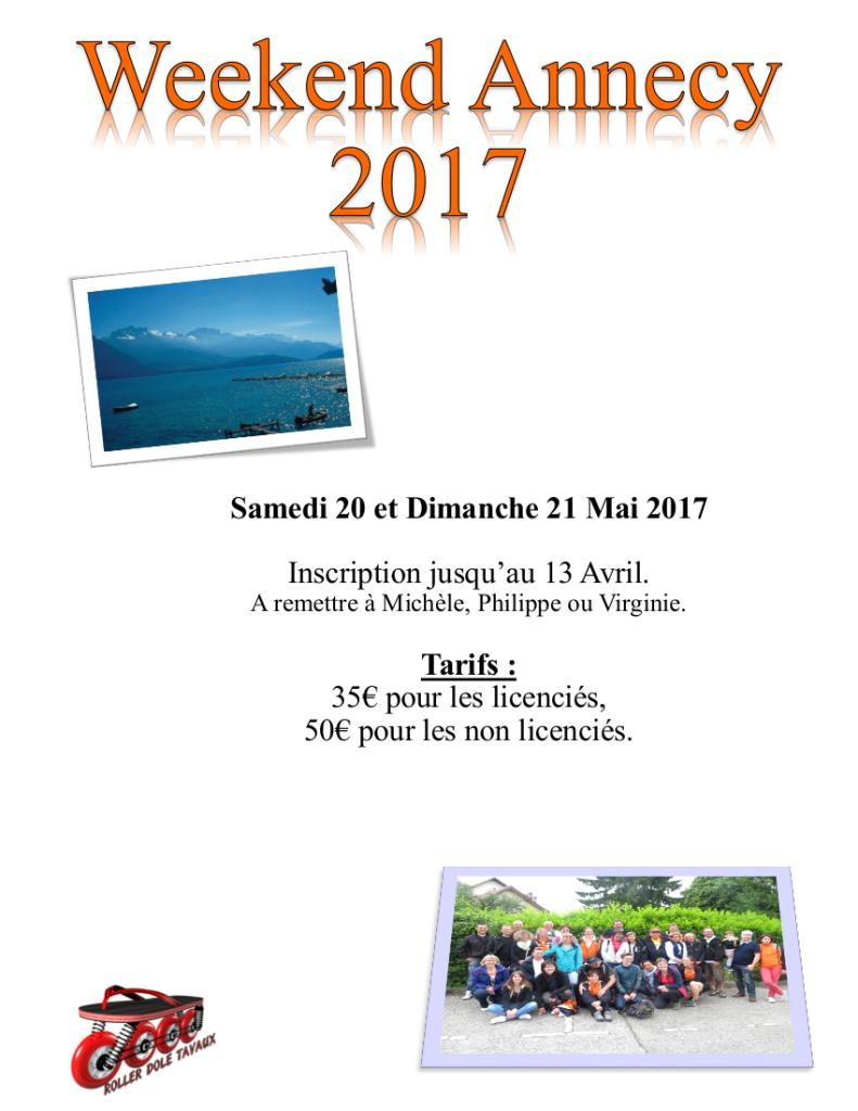 Affiche Annecy 2017